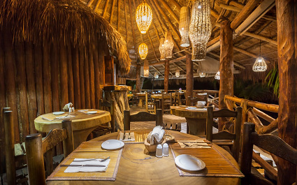 Restaurant at Villas Delfines Holbox Hotel